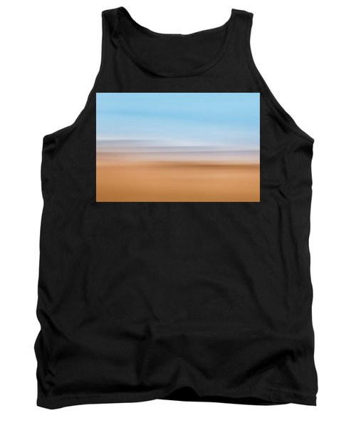 Beach Abstract Tank Top
