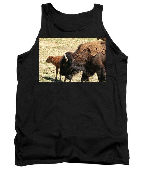 Bison In North Dakota Tank Top