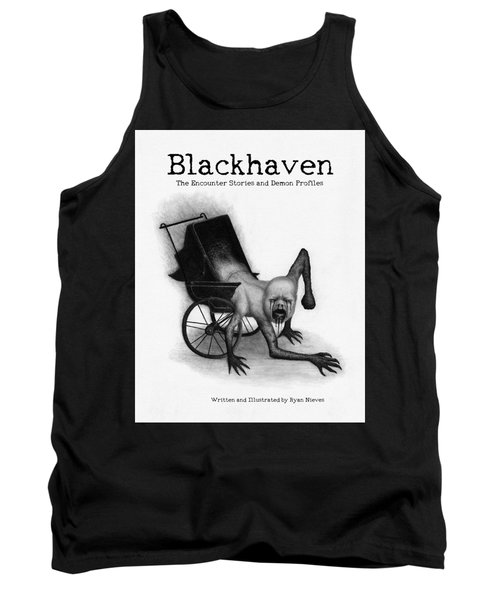 Blackhaven The Encounter Stories And Demon Profiles Bookcover, Shirts, And Other Products Tank Top