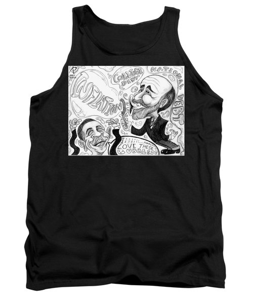 Blowing Bubbles  Tank Top