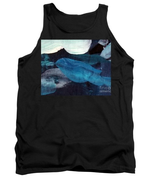 Blue Fish Tank Top
