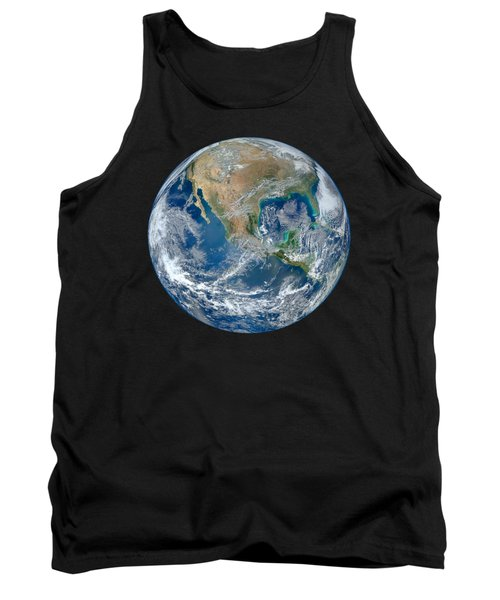 Blue Marble Our Earth From Space Tank Top