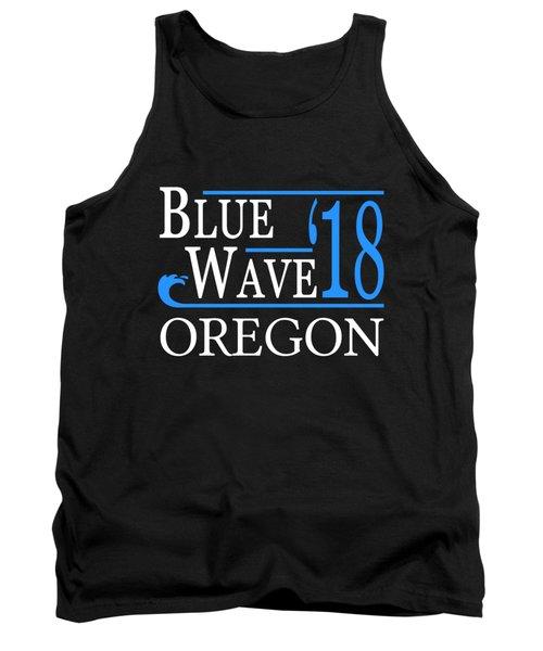Blue Wave Oregon Vote Democrat 2018 Tank Top