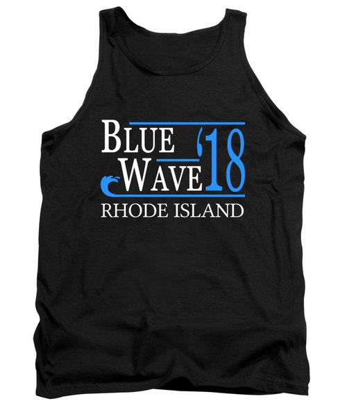 Blue Wave Rhode Island Vote Democrat 2018 Tank Top