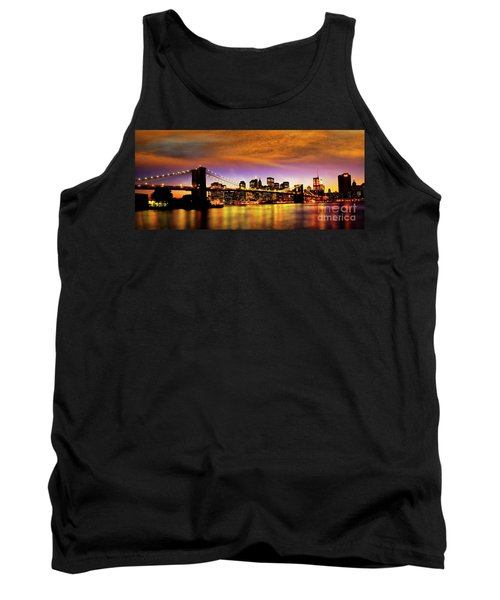 Bridging The East River Tank Top