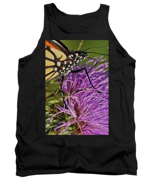 Butterfly Closeup Vertical Tank Top