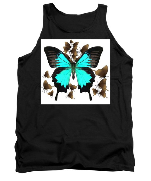 Butterfly Patterns 25 Tank Top