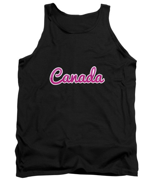 Canada #canada Tank Top
