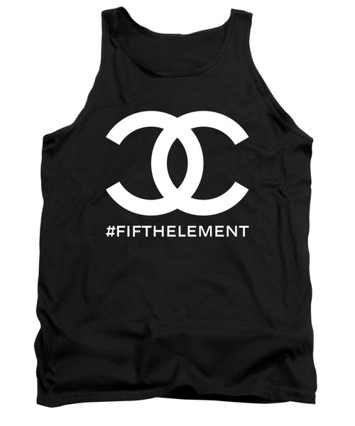 Chanel Fifth Element-2 Tank Top