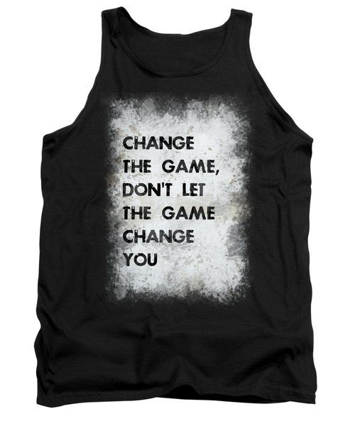 Change The Game Tank Top