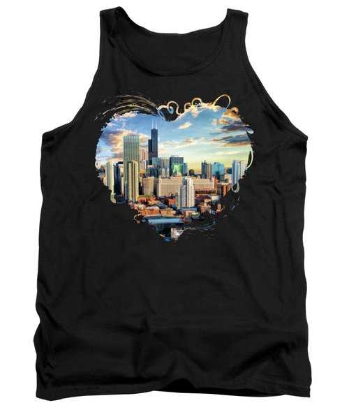 Chicago River North Tank Top