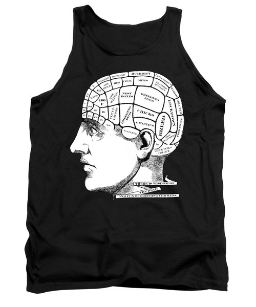 Chickens On My Mind Tank Top