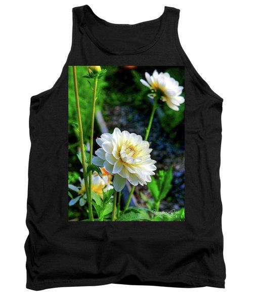 Chrysanthemum In Bloom Tank Top