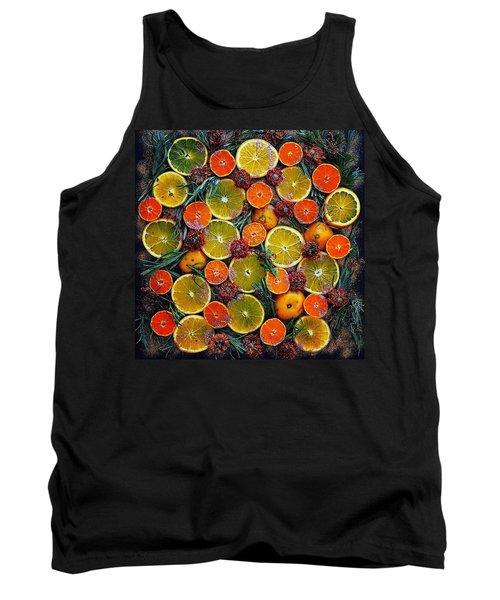 Citrus Time Tank Top
