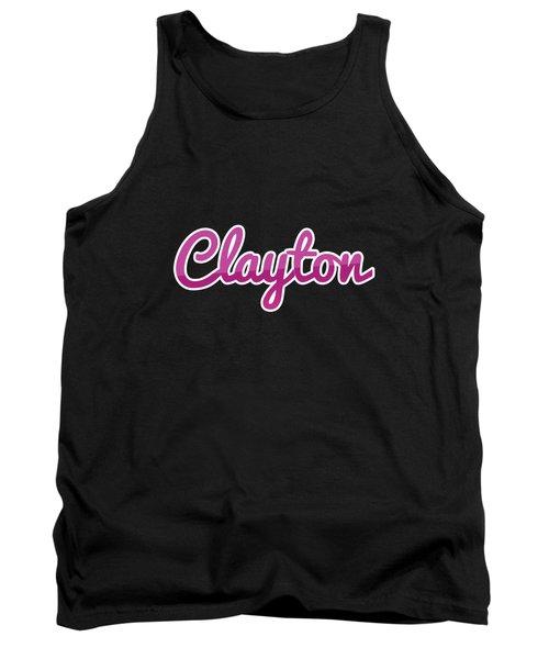 Clayton #clayton Tank Top