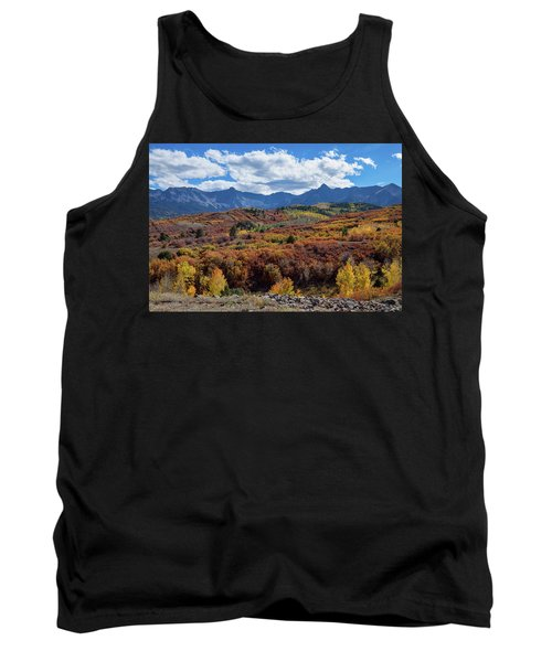 Tank Top featuring the photograph Colorado Color Lalapalooza by James BO Insogna