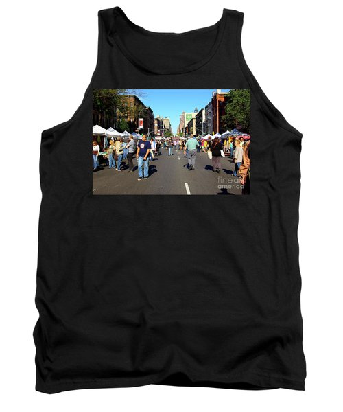 Columbus Day On Amsterdam Ave. Upper West Side, New York 2008 Tank Top