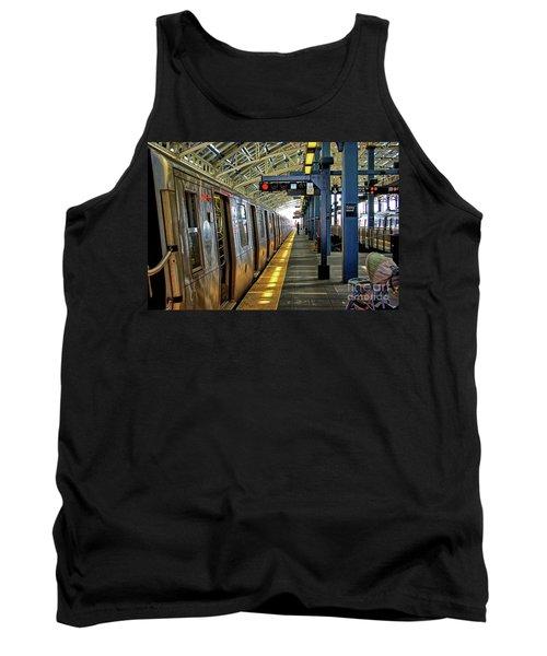 Coney Island Subway Train Station Tank Top