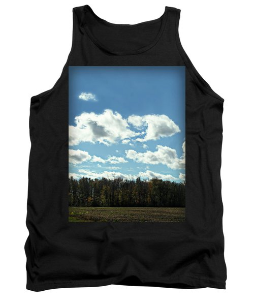 Country Atumn Curves 9 Tank Top