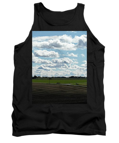 Country Autumn Curves 4 Tank Top