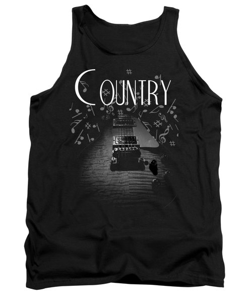 Country Music Guitar Music Tank Top