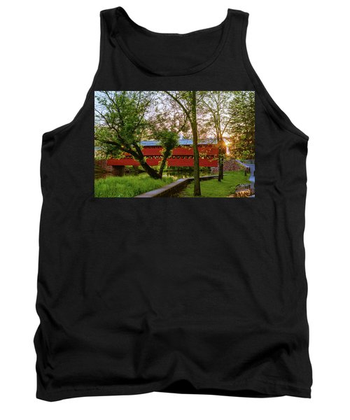 Covered Through Tree Tank Top