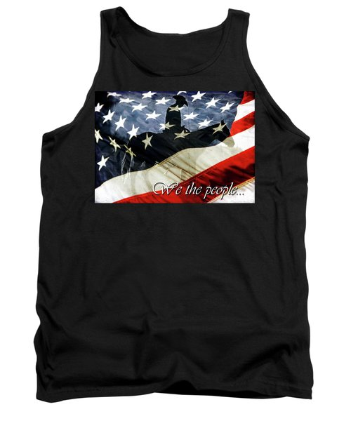Cowboy Patriot Tank Top