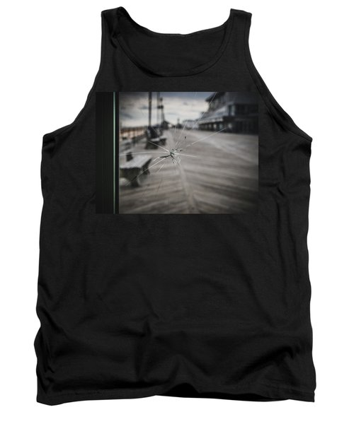 Tank Top featuring the photograph Crack by Steve Stanger
