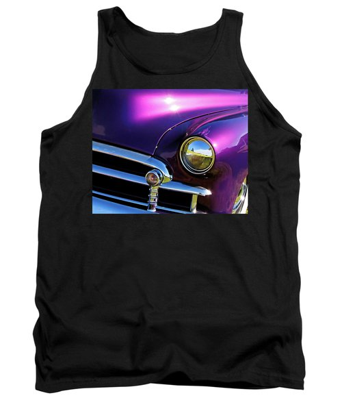 Custom Purple Chevy Tank Top
