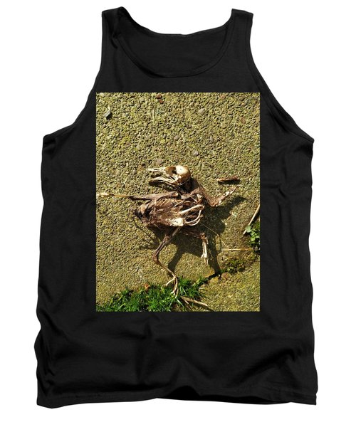 Death Shows Us We Are Nothing But Bones Tank Top