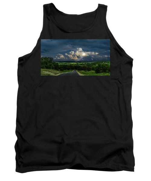 Down Hill From Here Tank Top