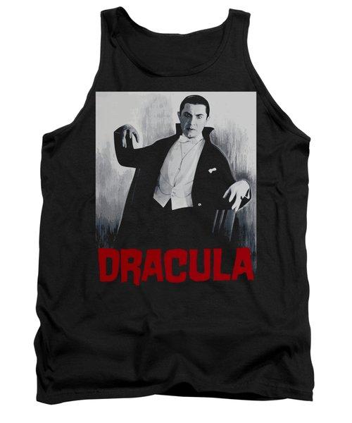 Dracula Vitage Poster Tank Top