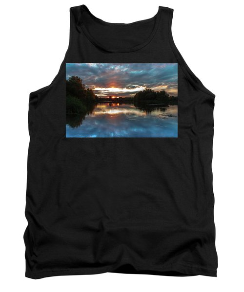 Dusk Aquarelle Tank Top