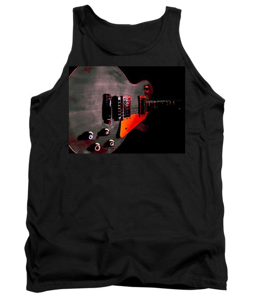 Ebony Relic Guitar Hover Series Tank Top