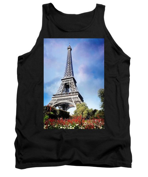 Eiffel Garden Tank Top