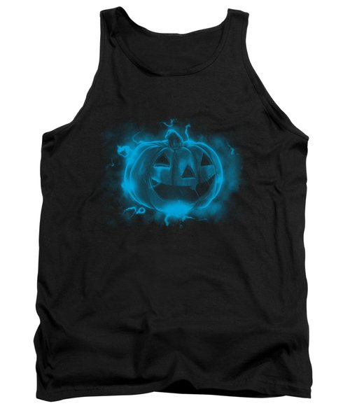 Electric Pumpkin Tank Top