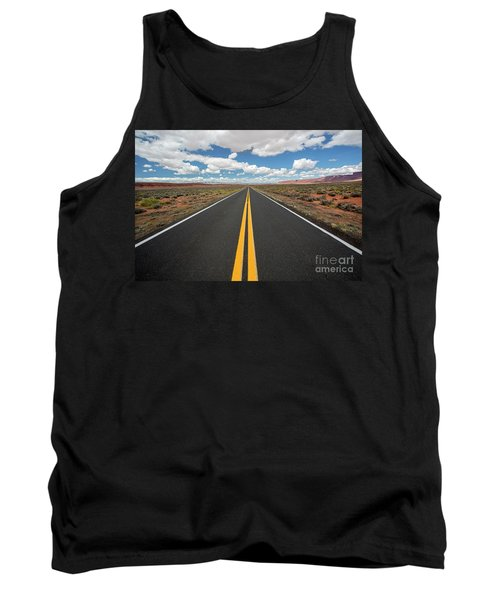 Empty Highway Tank Top