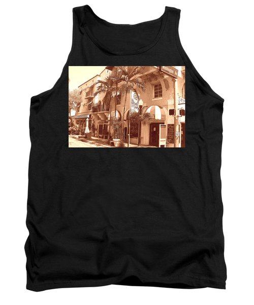 Espanola Way In Miami South Beach Tank Top