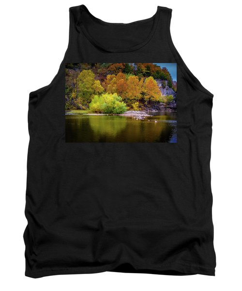 Fall Colors Of The Ozarks Tank Top