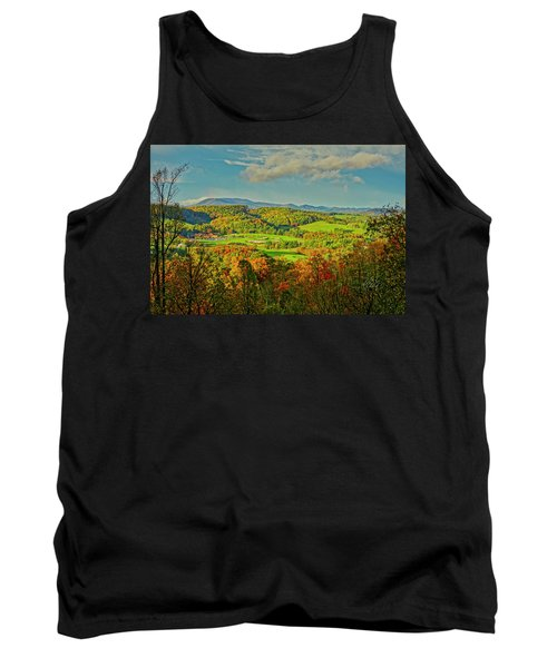 Fall Porch View Tank Top