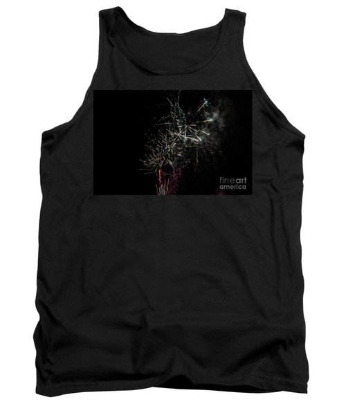 Fireworks Display With Multiple Colors Tank Top