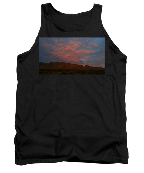 First Light Over Texas 3 Tank Top