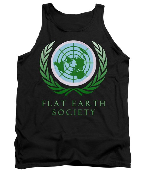 Flat Earth Society Tank Top