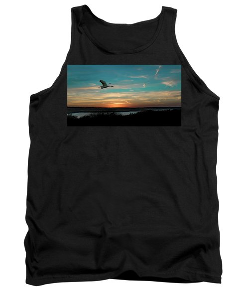 Flight To The Lake Tank Top