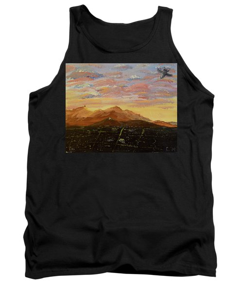 Flying Over Tucson Tank Top