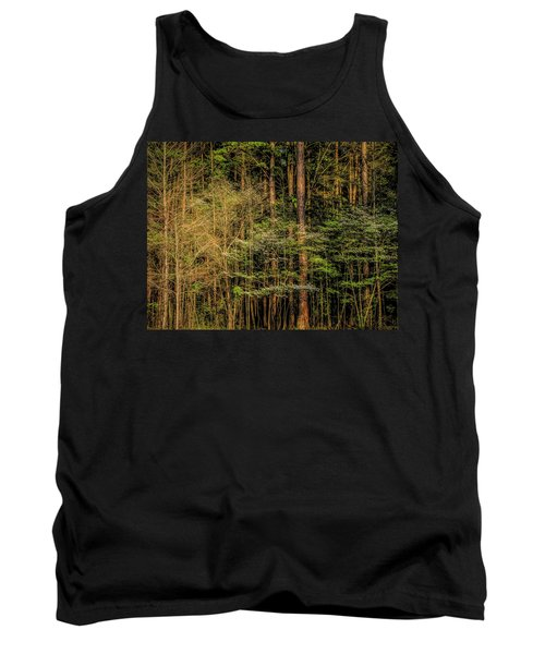 Forest Dogwood Tank Top