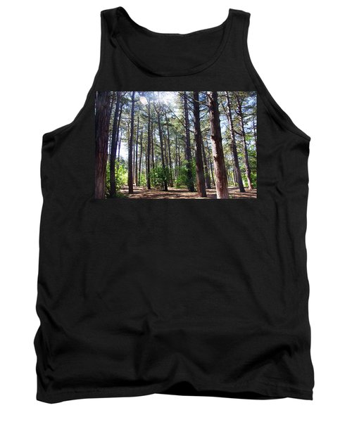 Formby. Woodland By The Coast Tank Top