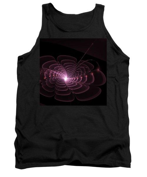 Fractal Rose Tank Top