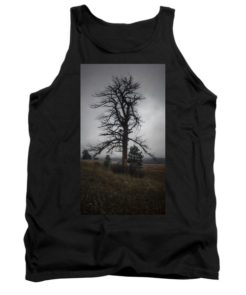Tank Top featuring the photograph Ghostly Snag by Dan Miller