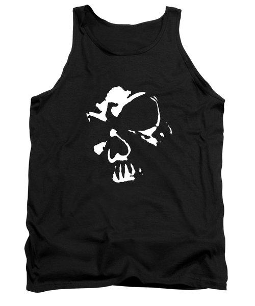 Goth Dark Skull Graphic Tank Top